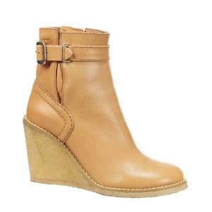 Boots compensées en cuir Alexa See by Chloé – 150€ – p Chaussures en cuir, Semelle intérieure en cuir, Semel – MonShowroom soldes -60%