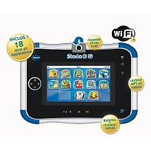 Console Storio 3S bleue + Power Pack – VTech