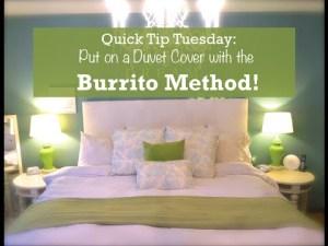 Comment mettre la couette dans sa housse – The Burrito Method – YouTube