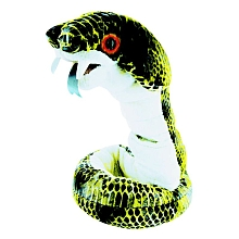 Giochi Preziosi - Discovery channel - Peluche animée - Serpent 1 m - Cobra Peluche Serpent 1 mètre animée : la tête bouge