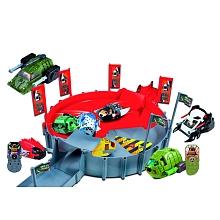 toys' r us Giochi Preziso - Cpubt arène + 2 véhicules + kung zhu pets