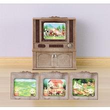 toys' r us Sylvanian Families - Meuble television couleur
