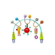 Taf Toys - Arche de poussette flexible Arche de poussette flexible avec 3 jouets.