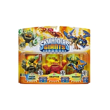 toys' r us Skylanders Giants - Triple Pack Figurine lumineuse (Prism Break / Eruptor / Drobot)