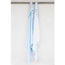 toys' r us Babies R Us - Lot de 2 capes de bain (bleu et blanc)