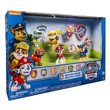 toys' r us Spin Master - Cpubt de 6 figurines Sac à dos - Paw Patrol
