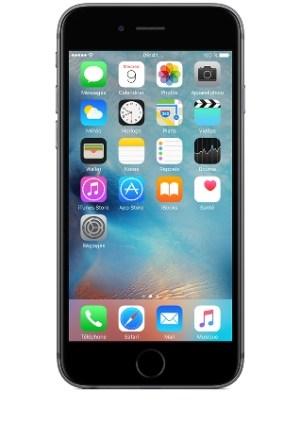 Apple iPhone 6s Gris sidéral 64Go orange pas cher