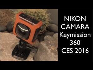 Caméra Nikon Keymission 360 CES 2016 – YouTube