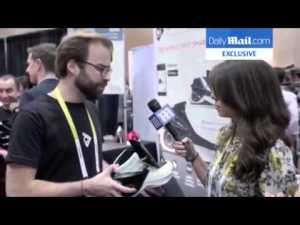 Chaussures intelligentes Digitsole au CES 2016 – YouTube