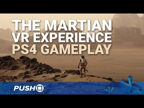 The Martian VR Experience PS4 Gameplay: Space Odyssey | PlayStation 4 | PlayStation VR – YouTube  Test du jeu vidéo The martian Experience avec le nouveau casque Sony PS4 VR