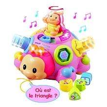 toys' r us VTech - Coccinelle des formes - Rose