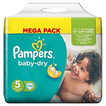 toys' r us Couches Pampers Mega Baby Dry 11/25 kg