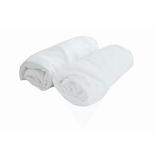 toys' r us 2 draps housse 70 x 140 cm blanc