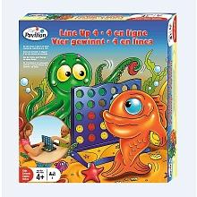 toys' r us Pavilion - Lot de 4 jeux - 4 en ligne + Bataille navale + qui suis-je + Serpents et echelles