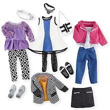 toys' r us Journey Girls - Cpubt 6 tenues de poupée