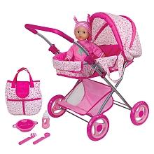 toys' r us You&Me - Poupon 30 cm + Landau + Sac à langer et accessoires