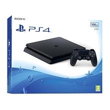 toys' r us Console PlayStation 4 ''Slim'' - 500 Go - Jet Black