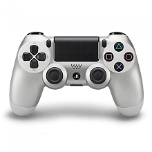 toys' r us PlayStation 4 - Manette DualShock 4 Officielle - Argent