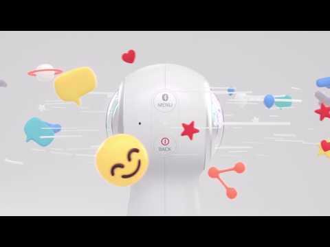 Introducing 2017 Gear 360 Design – YouTube  Nouvelle version de la caméra 36 samsung gear qui peut faire du live video 360 sur les réseaux sociaux, youtube, facebook et twitter