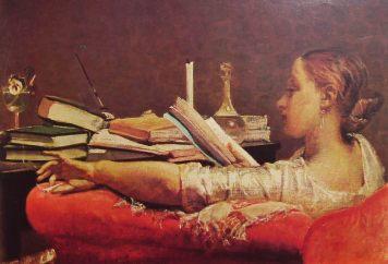 Dama che legge
