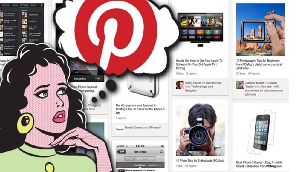 An overview of Pinterest