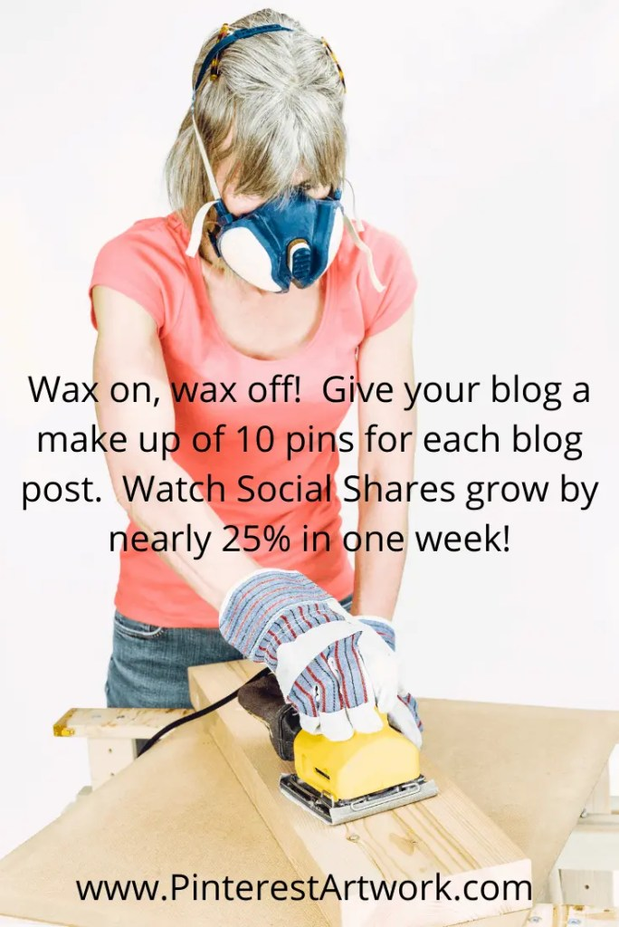 10 pins per post increase Social Shares 2 1 A blog for the love of Pinterest