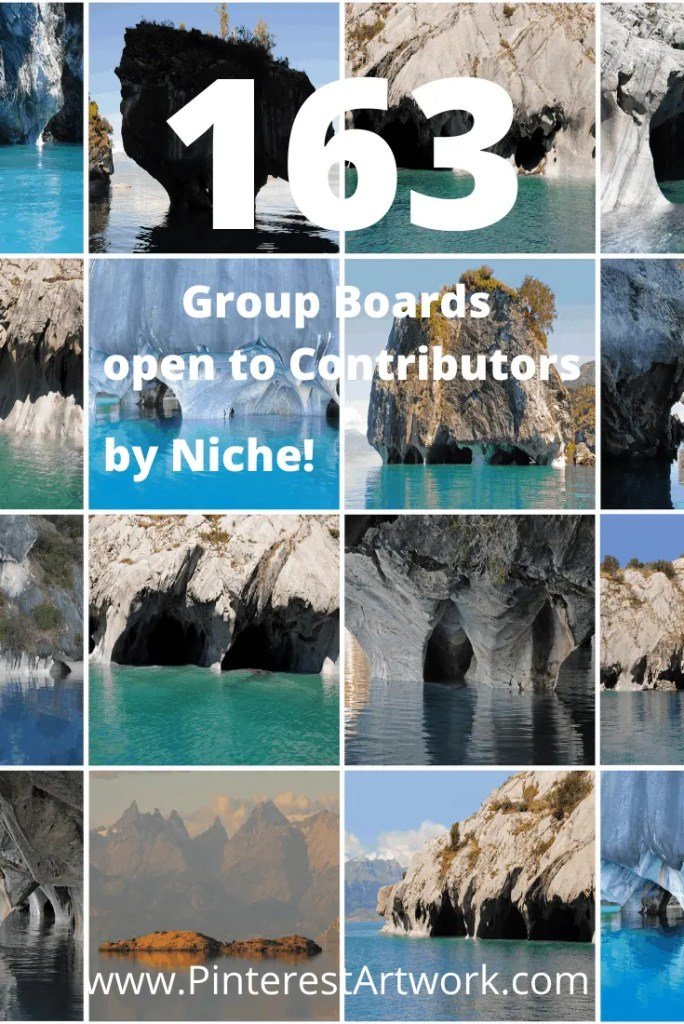 163 Group Boards to Join by Niche A blog for the love of Pinterest