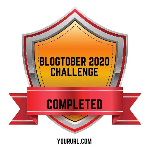 Blogtober Badge 2020 Completed 10 A blog for the love of Pinterest