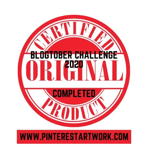Blogtober Badge 2020 Completed 11 A blog for the love of Pinterest