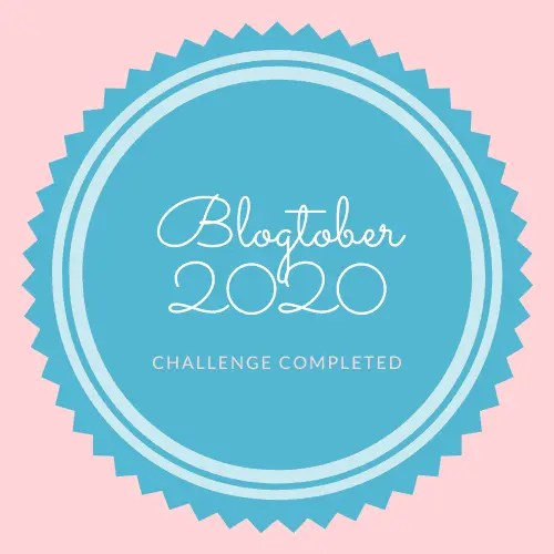 Blogtober Badge 2020 Completed 14 A blog for the love of Pinterest