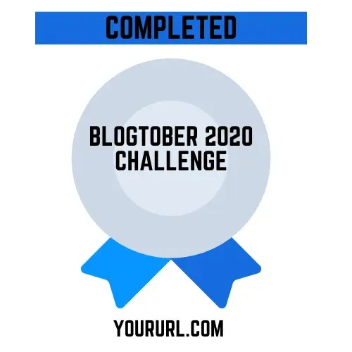 Blogtober Badge 2020 Completed 8 A blog for the love of Pinterest