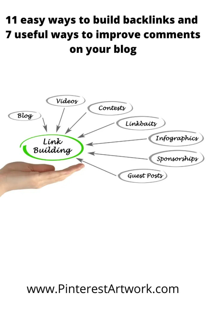 Building backlinks and comments 11 A blog for the love of Pinterest