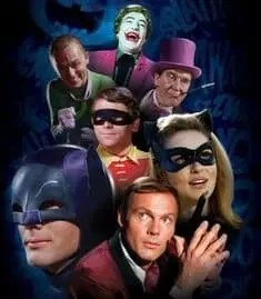 comics adam west collage A blog for the love of Pinterest