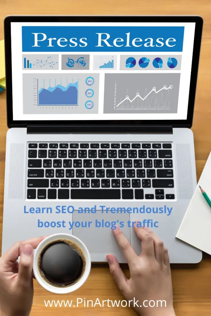 Press release learn SEO 1 A blog for the love of Pinterest