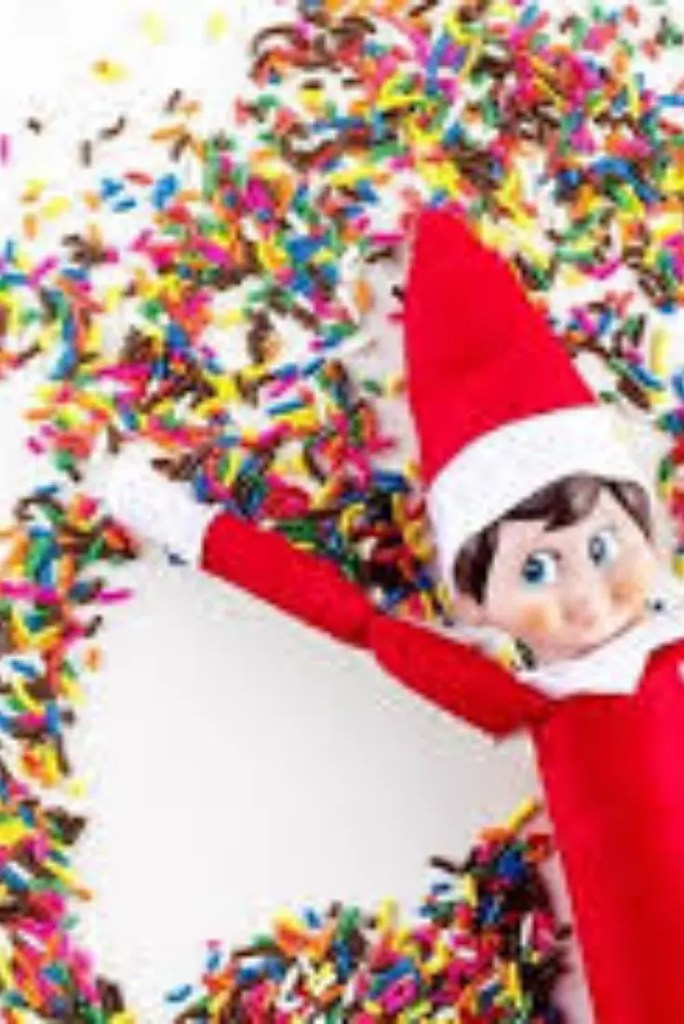 Elf on the Shelf ideas 10 A blog for the love of Pinterest