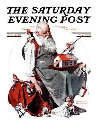 Santa with Elves A blog for the love of Pinterest