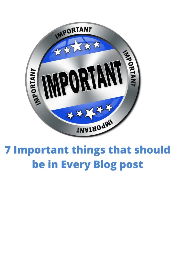 7 important things in every post 3 A blog for the love of Pinterest