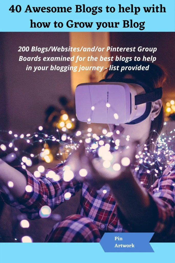 40 awesome blogs to help grow your blog 4 A blog for the love of Pinterest