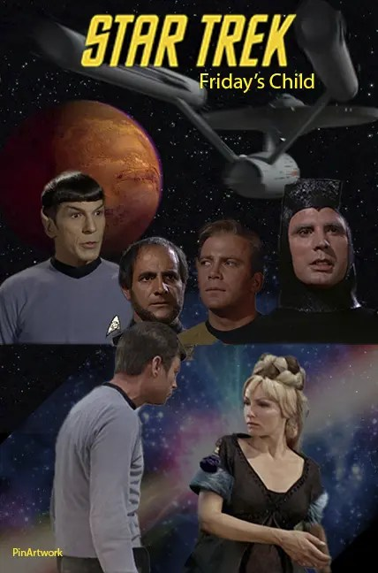 Star Trek TOS – An awesome collage of Star Trek – The Original Series Poster pins