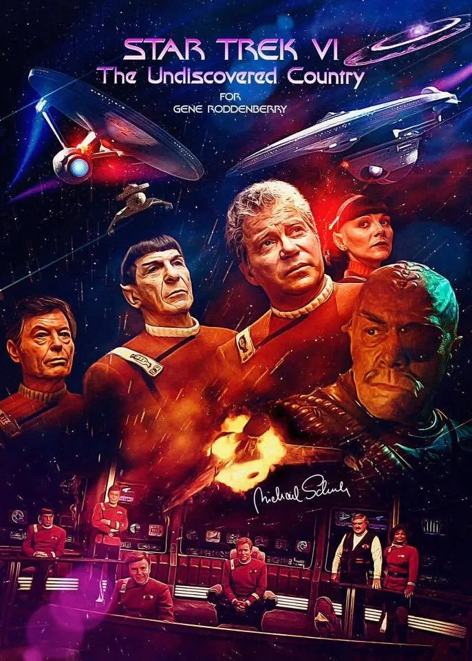 Star Trek VI The Undiscovered Country 1 A blog for the love of Pinterest