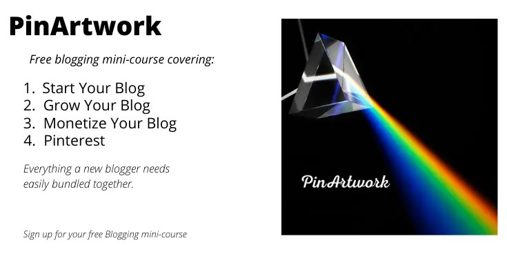 Free Mini Course A blog for the love of Pinterest