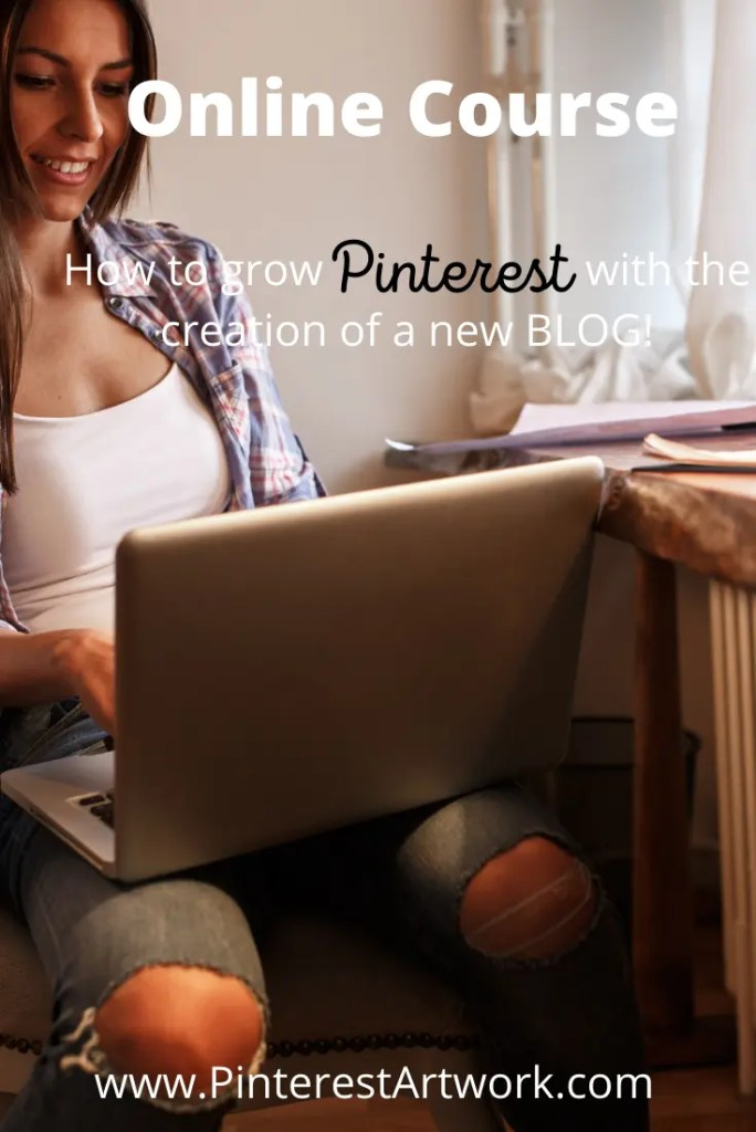 Online Course 4 A blog for the love of Pinterest