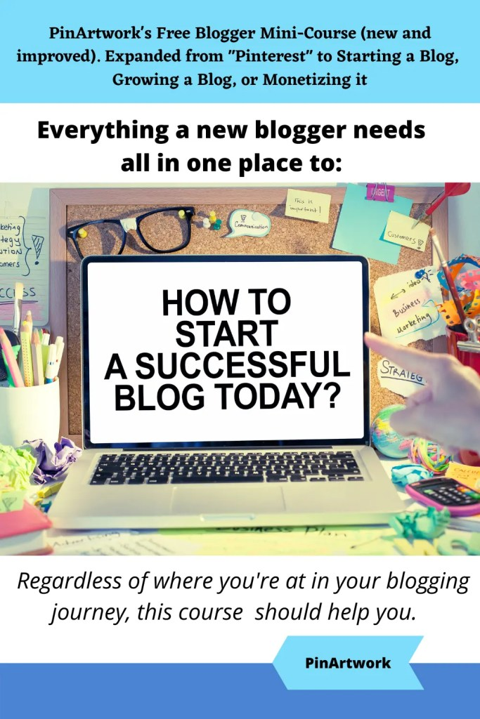 PinArtworks free blogging mini course 4 A blog for the love of Pinterest