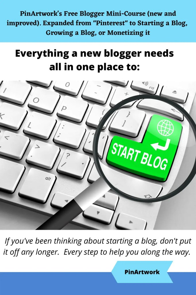 PinArtworks free blogging mini course 6 A blog for the love of Pinterest