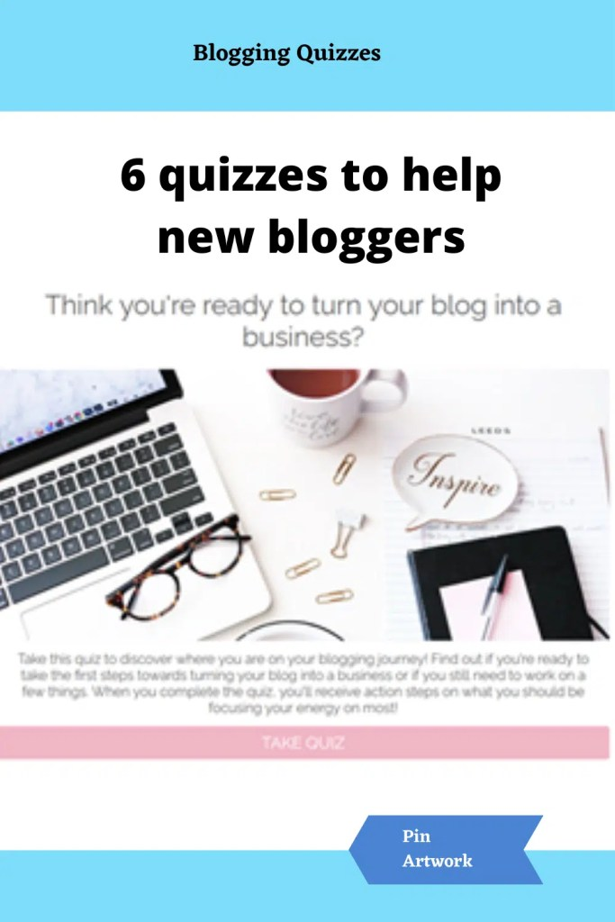 Quizzes for new bloggers 3 A blog for the love of Pinterest