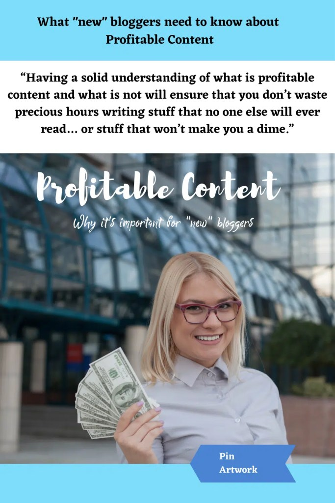What new bloggers need to know about profitable content 2 1 A blog for the love of Pinterest