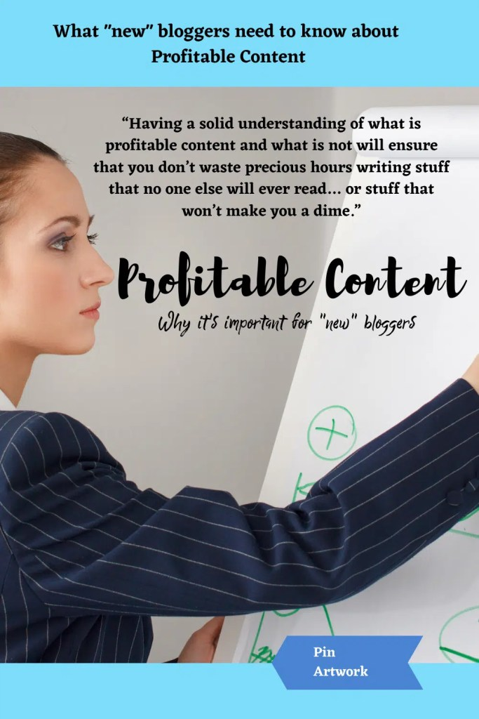 What new bloggers need to know about profitable content 4 1 A blog for the love of Pinterest