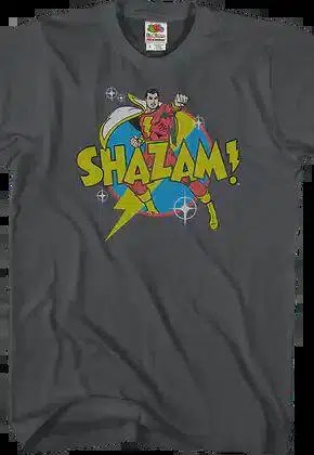action pose shazam dc comics t shirt.master A blog for the love of Pinterest