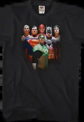 alex ross justice league t shirt.master A blog for the love of Pinterest