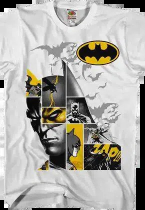 caped crusader collage batman t shirt.master A blog for the love of Pinterest
